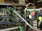 高圧ケーブル絶縁耐力試験(直流漏れ電流試験)