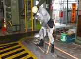 FEP管敷設作業
